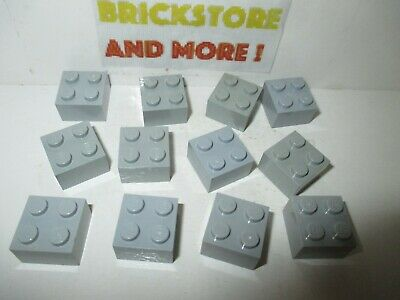 Choose Quantity x2 x8 Lego Brick Brique Corner 2x2 2357 Light Gray