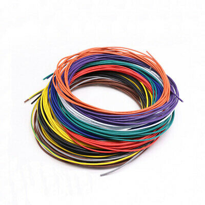 20AWG Flexible Stranded Cable Wire UL1015 PVC Tinned Copper Electronic Wires
