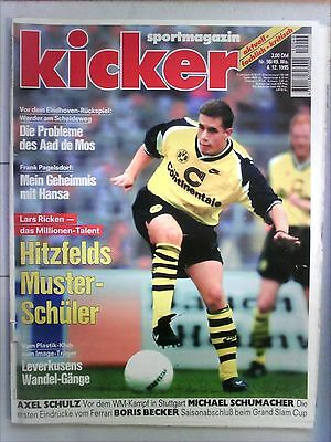 Kicker Sport Magazine No 98/49. Week 4.12.1995