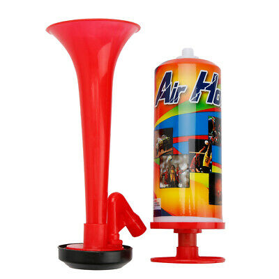 Air Horn Hand Held Pump Action Football Sport Event Party Concerts Festival Loud