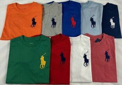 GENUINE Ralph Lauren Boys Polo T Shirt  'Big Pony' 2,3.4,5,6,7,8,10/12,14/16