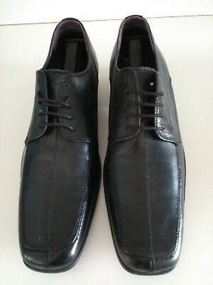 Gucinari HAMILTON Mens Leather Formal Smart Evening Dress Lace-Up Pointed Shoes