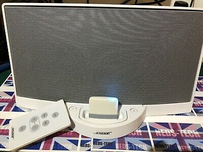 Bose SoundDock Series 1 White With Remote control and Power Cable plus BlueTooth