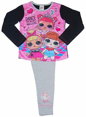 LOL Surprise Dolls Girls Pyjamas Dance Club Pink Kids Nightwear Size 4-5 Years