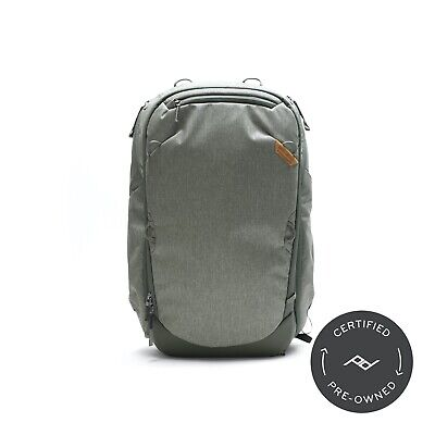 Peak Design Travel Backpack 45L Sage (Lifetime Warranty) - PD Certified