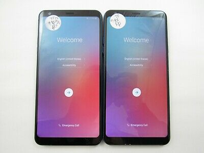 LOT OF 2 LG Stylo 4 L713DL Tracfone Check IMEI Good