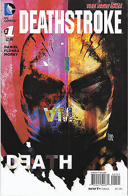 Deathstroke 1 - Variant Cover (Modern Age 2014) - 9.0