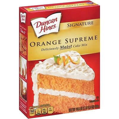 Duncan Hines Orange Supreme 15.25 oz
