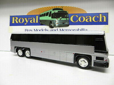 Untrimmed MCI A-3 10-inch Plastic Bank Bus