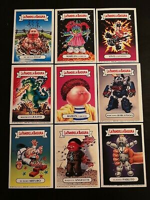 Sticker  la pandilla basura Garbage pail kids CHOOSE OF THE LIST