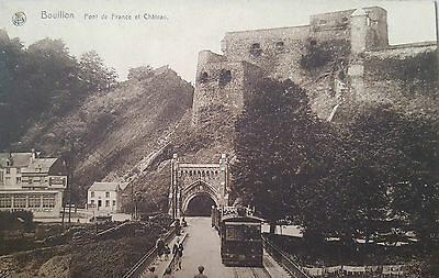 Carte postale CPA AK postcard postkaart Belgique BOUILLON PONT collection