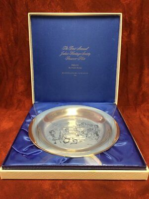 Pesach Sterling Silver Passover Plates by Chaim Gross Mint #407