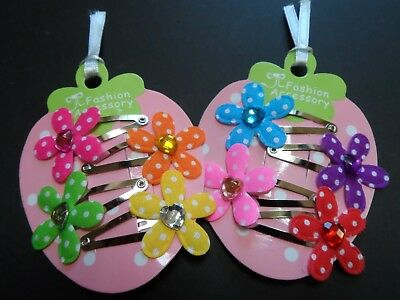 girls/baby hair accessories, mini/small hair slides, clips,polka dot,flower bow