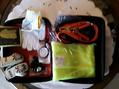 Emergency Auto Kit In Red Case