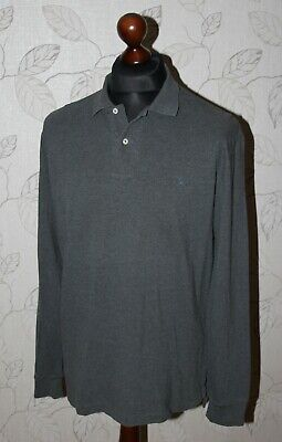 Polo by Ralph Lauren mens grey Long Sleeve shirt Size M