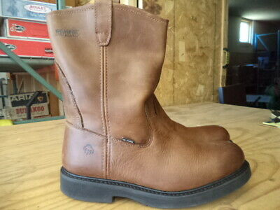 4c820192068 WOLVERINE INGHAM 8 Inch DuraShocks Kiltie Lacer Work Boot Medium ...