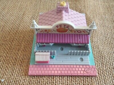 1993 Vintage Polly Pocket Bluebird Pet Store Compact ONLY