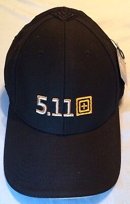 7bcf41e420ba6 5.11 Tactical HAT police SWAT military BLACK range shooter cap LEO security