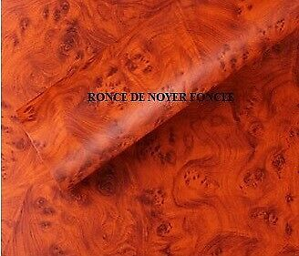 covering adhesif ronce de noyer Foncée - thermoformable - (50 cm x 1.22 m)