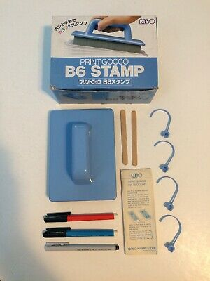 Riso Print Gocco B6 STAMP w/accesories NOS Never Used 4903460001135 JAPAN