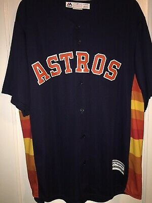 808a1b983 Houston Astros Carlos Correa MLB Majestic Cool Base Jersey in size X-Large