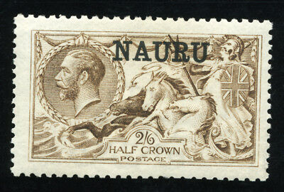 Nauru 1916/23 Sc 13 Vf Og Mlh * Scarce Superb  Stamp