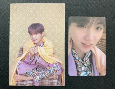 Bts-Map Of The Soul Persona Post Card+Photo Card Suga 2