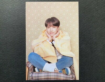 Bts-J Hope Map Of The Soul Persona Post Card+Love Your Self Photo Card