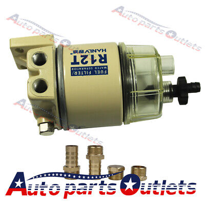 New  Fuel Filter / Water Separator 120At For Racor R12T Marine Spin-On