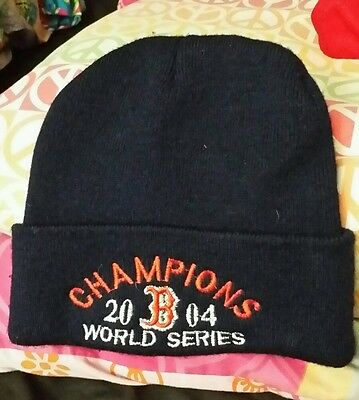 9e3868235a2 Boston Red Sox 2004 World Series Champions Winter Hat men s ONE SIZE fits  all