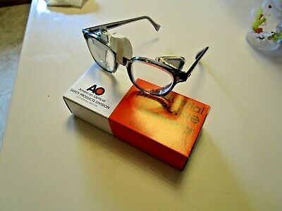 Vintage AMERICAN OPTICAL Safety Glasses  Side Shield  NEW OLD STOCK HARD TO FIND