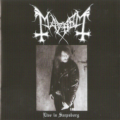 Mayhem ‎- Live In Sarpsborg CD + DVD - SEALED - 2019 Import Black Metal Album