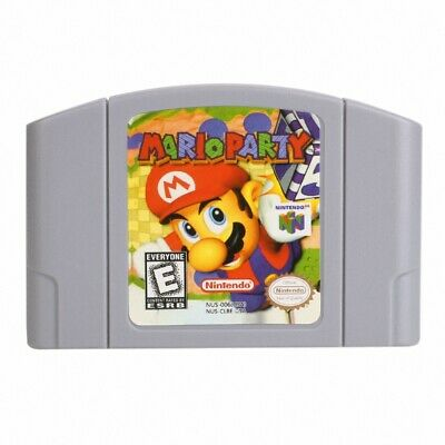 Mario Party 1 For N64 Nintendo 64 Game Card Cartridge Playing Cards US Version