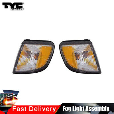 TYC Pair Turn Signal Parking Light Assy Left+Right For F-250 Super Duty 99-2001