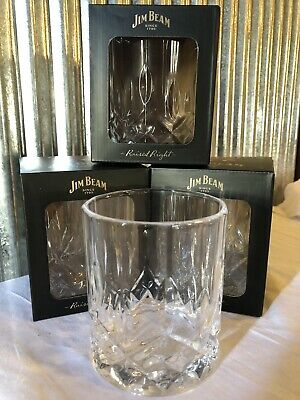 2 X Jim Beam Glasses BRAND NEW FREE POST