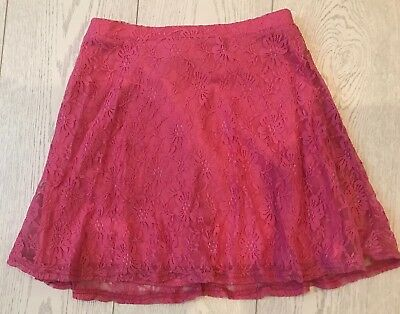 Girls Miss Evie Pink Skirt - Age 12 Years