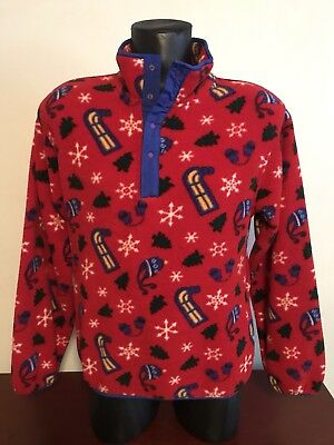 Clothing, Shoes & Accessories Vintage Ll Bean Polartec Series 200 Kids Xl New Nwt Made In Usa Lizard Print Kids' Clothing, Shoes & Accs