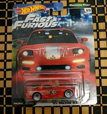 2019 HOT WHEELS Fast and Furious Original Fast 1995 MAZDA RX7 Real Riders