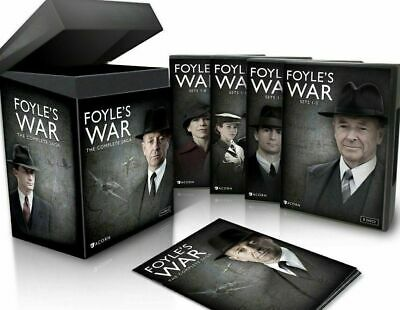 New & Sealed! TV Foyle's War The Complete Saga Box Set Seasons/Series DVD