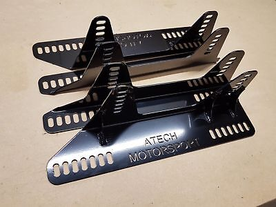 Bmw E36 Seat Mounts -Wide- Side Mount Bucket Seats Driver & Passenger Race Drift