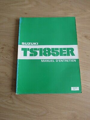 Original service manual Suzuki  TS185ER  1980