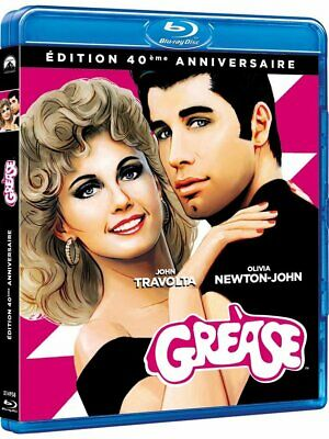 GREASE - BLURAY - Edition Francaise - Neuf sous blister