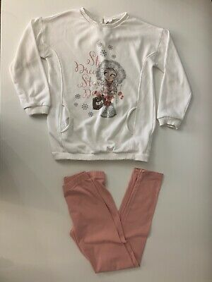 Mayoral Girls 2 Piece Outfit Leggings & Jumper Age 9 Years Vgc