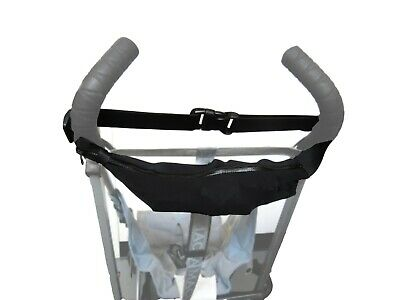 Black Bag Pouch Organizer for GRACO Handlebar Baby Strollers Keys Toys Wallet