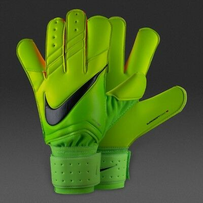 Nike GK Vapor Grip 3 Goalkeeper Gloves Size 11 GS0327-336 Volt Black