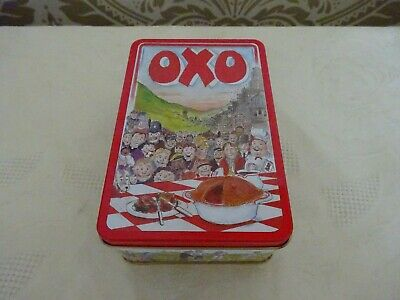 Retro Advertising Oxo 48 Cube Tin Versatility of Oxo 1992