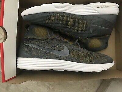 39e82d57bbe6 Nike Lunar Magista Flyknit II Mens Shoes 852614 004#Size 11.5 dark gray #NWT