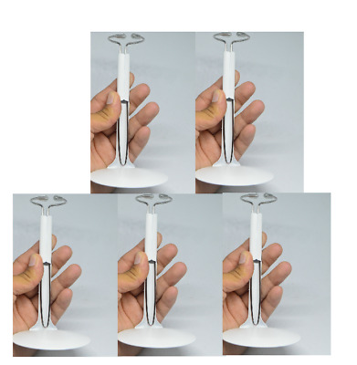 """5 PCS 1/6 Scale C-Type Display white Stand Doll Holder fit 12"""" Action Figures"""