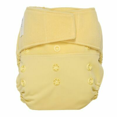 GroVia Hybrid Cloth Waterproof Diaper Cover Hook & Loop Shell -Chiffon NEW