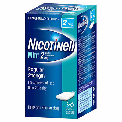 NEW Nicotinell Gum Mint 2mg - 96 Pack